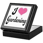 I Love Gardening Keepsake Box