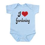 I Love Gardening Infant Bodysuit