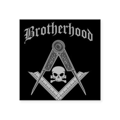 "brotherhood.jpg Square Sticker 3"" x 3"""