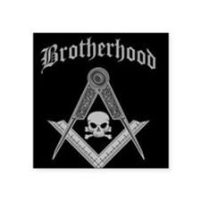 "brotherhood.jpg Square Sticker 3"" x 3"""