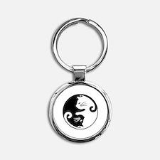 Cute Round Keychain