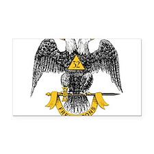 32_eagle_hi_res_Freemasons.gif Rectangle Car Magne