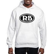 RB Rehoboth Beach Oval Hoodie