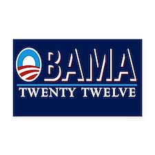 Obama Rectangle Car Magnet