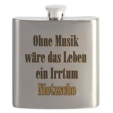 Nietzsche Musik Flask