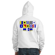 Kings Point Dad Signal Flag Hoodie