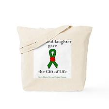 Granddaughter Donor Tote Bag
