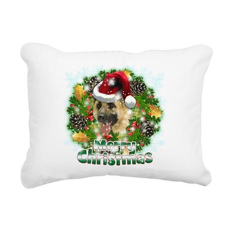 Merry Christmas German Shepherd.png Rectangular Ca