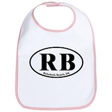 RB Rehoboth Beach Oval Bib