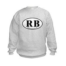 RB Rehoboth Beach Oval Sweatshirt