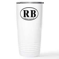 RB Rehoboth Beach Oval Travel Mug