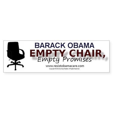 Empty Chair, Empty Promises