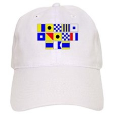 Kings Point Dad Signal Flags Baseball Cap
