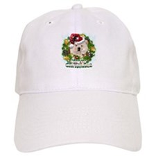 Merry Christmas Chow Chow.png Baseball Cap