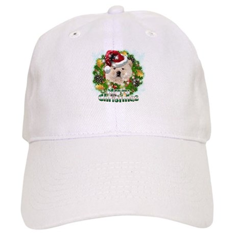 Merry Christmas Chow Chow.png Cap