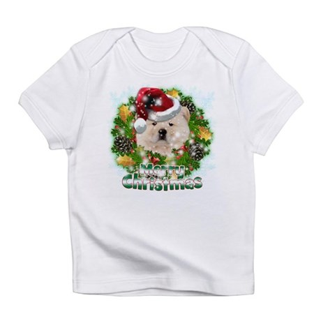 Merry Christmas Chow Chow.png Infant T-Shirt