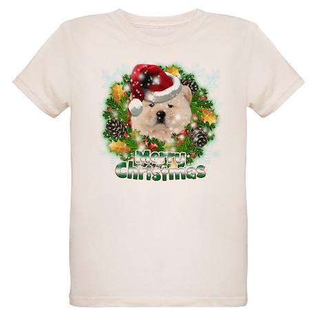 Merry Christmas Chow Chow.png Organic Kids T-Shirt