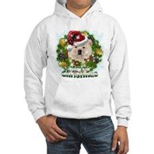Merry Christmas Chow Chow.png Hoodie
