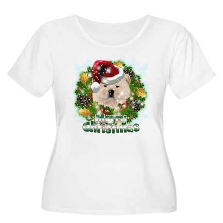 Merry Christmas Chow Chow.png Women's Plus Size Sc