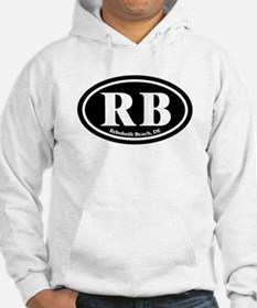 RB Rehoboth Beach Oval Hoodie
