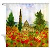Tuscany Bathroom Shower Curtain