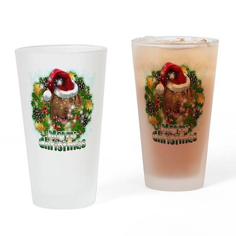Merry Christmas Chesapeake Bay Retriever.png Drink