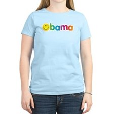 Obama Smiley Face T-Shirt