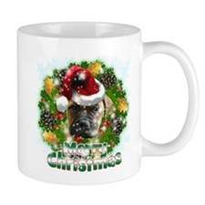 Merry Christmas Bull Mastiff.png Mug
