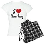 I Love Harness Racing Women's Light Pajamas