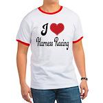 I Love Harness Racing Ringer T