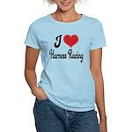 I Love Harness Racing Women's Light T-Shirt