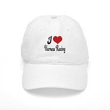 I Love Harness Racing Baseball Cap