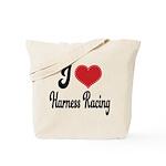 I Love Harness Racing Tote Bag