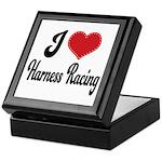 I Love Harness Racing Keepsake Box