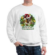 Merry Christmas Boxer.png Sweatshirt