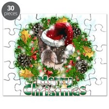 Merry Christmas Boston Terrier.png Puzzle