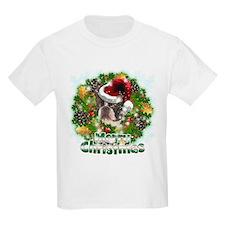 Merry Christmas Boston Terrier.png T-Shirt