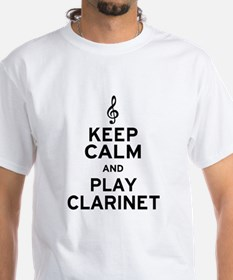 Keep Calm Clarinet Shirt
