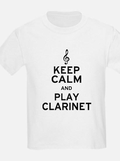 Keep Calm Clarinet T-Shirt
