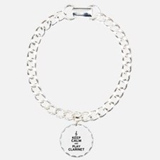 Keep Calm Clarinet Bracelet