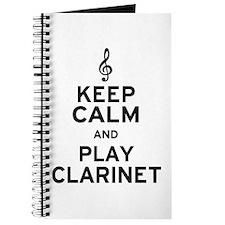 Keep Calm Clarinet Journal