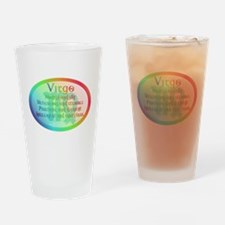 virgoWM.png Drinking Glass