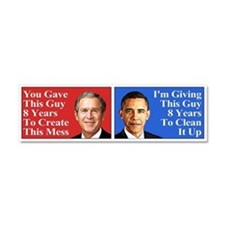 Give Obama 8 Years (Car Magnet)