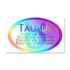 taurusWM.png Car Magnet 20 x 12