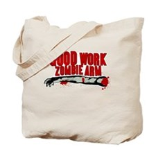 Cabin in the Woods Zombie Arm Tote Bag