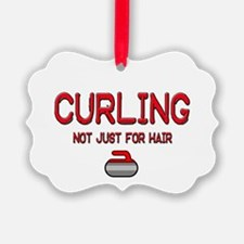 Curling Ornament