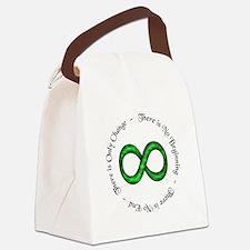 Infinite Change Canvas Lunch Bag