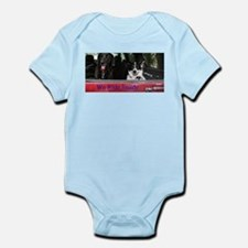 We ride inside Infant Bodysuit