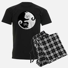 YIN YANG CUTE CATS Pajamas