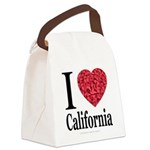 ilovecalifornia.png Canvas Lunch Bag